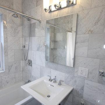 Andersonville Marble Bathroom