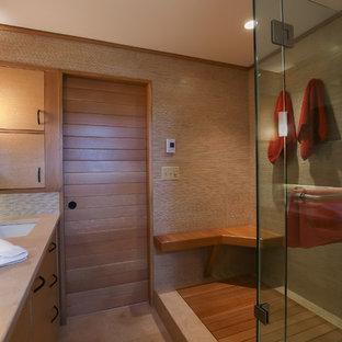 Andover MA Scandinavian Style Master Bath