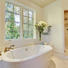 Eclectic Bathroom by Andrea Braund Home Staging & Design