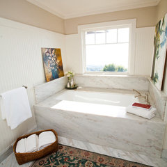 eclectic bathroom by Andrea May Hunter/Gatherer