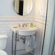 Contemporary Bathroom andrea ways newman