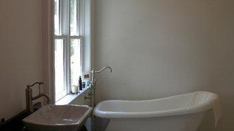 Andrews Master Bath and Vanity
