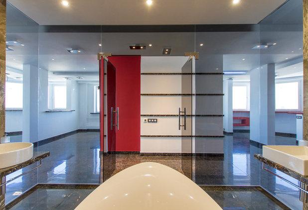 Современный Ванная комната by Andrey Gulyaev Architects