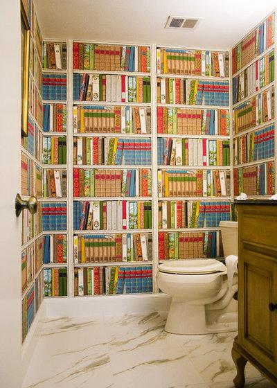 Klassisch Badezimmer by Angela Gutekunst Interiors, Inc.