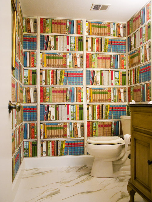 Best Library Wallpaper Design Ideas Remodel Pictures Houzz HD Wallpapers Download Free Images Wallpaper [1000image.com]