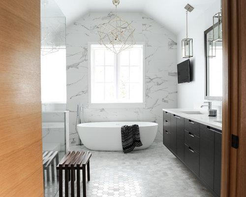 Top 100 master bathroom ideas designs houzz for Bathroom vanities vancouver wa