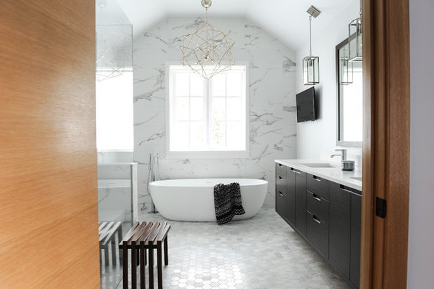Contemporary Bathroom by Hungerford Interior Design