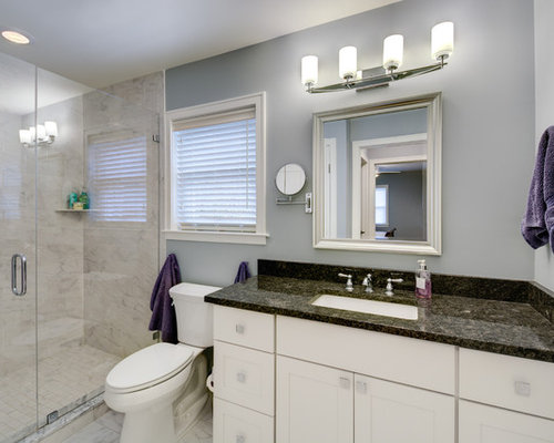 Medium sized traditional bathroom design ideas for Bathroom ideas medium