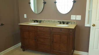 Ann Arbor Master Bath Renovation with Jacuzzi Tub, Ceramic Tile and Dual Shower
