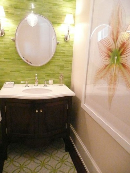 tropical bathroom ann sacks tile bathroom - Velvet & Linen
