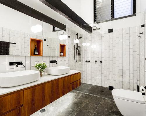 4,871 Industrial Bathroom Design Ideas & Remodel Pictures | Houzz