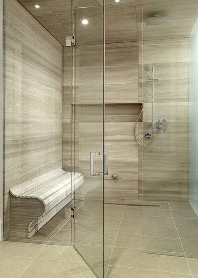 Contemporary Bathroom by Geometra Design Ltd.