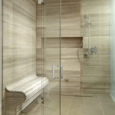Contemporary Bathroom by Geometra Design Ltd.
