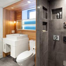 Contemporary Bathroom by Wanda Ely Architect Inc.