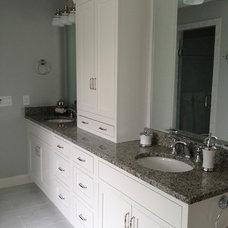 Craftsman Bathroom by Naplex Construction LLC