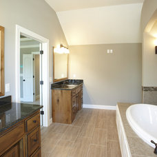 Traditional Bathroom by Covenant Custom Homes