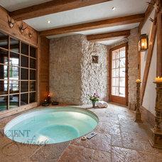 Mediterranean Bathroom by Ancient Surfaces