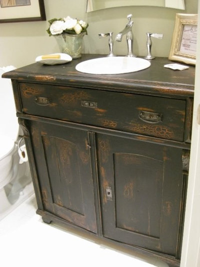 Eclectic Bathroom by Charles Phillips Antiques and Architecturals