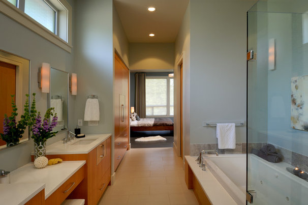 Contemporary Bathroom by Christopher Developments