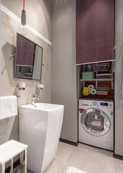 industriale stanza da bagno by