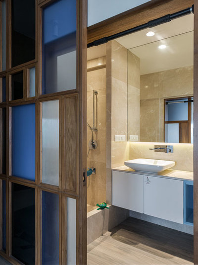 Contemporary Bathroom by ns*a Architecture and Interiors