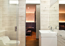 great bathroom. can you please describe the tile and name if available.