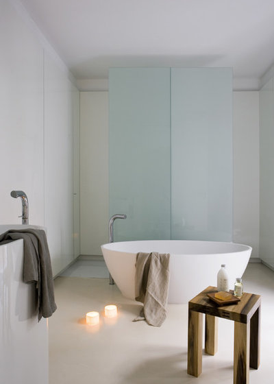Contemporáneo Cuarto de baño by YLAB Arquitectos Barcelona