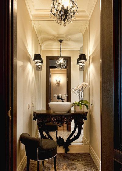 Traditional Bathroom by Katerina Lashmanova
