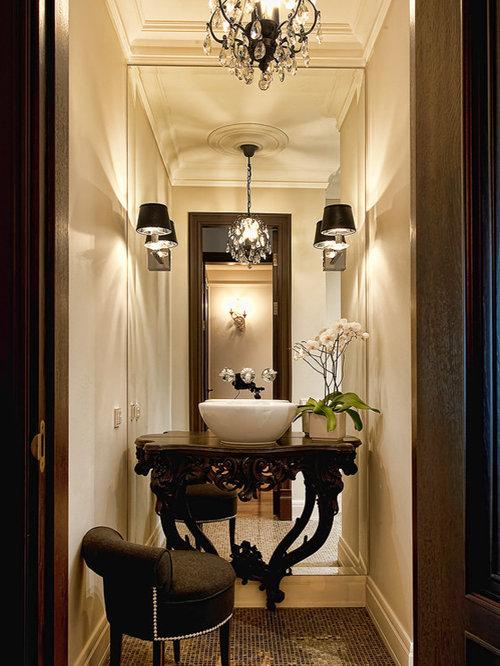 Elegant Powder Room Home Design Ideas Pictures Remodel