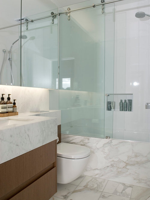 Rolling Shower Door Houzz