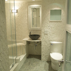 contemporary bathroom by Falk Designs, LLC