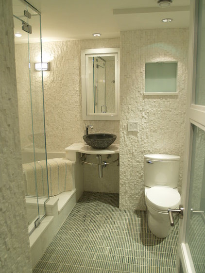 Contemporary Bathroom by Falk Designs, LLC