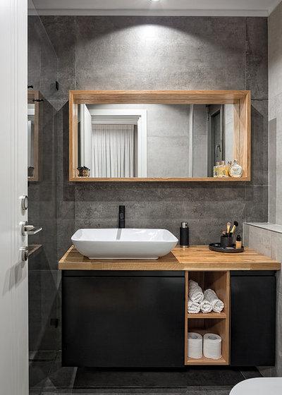 Nórdico Cuarto de baño by SK Designers - Shimrit Kaufman