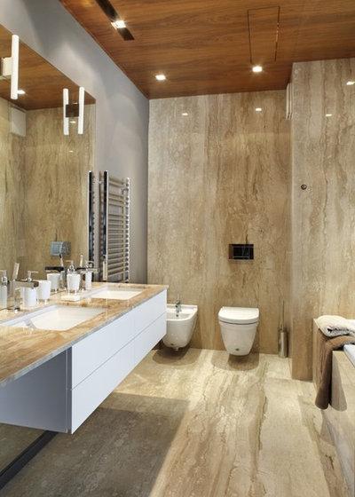 Opter pour du marbre dans la salle de bains bonne ou - Marbre pour salle de bain ...