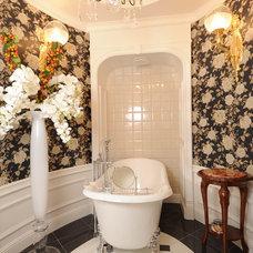 Traditional Bathroom by Simutin Design
