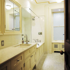 Traditional Bathroom by Francoise Bollack Architects