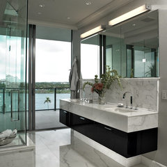 contemporary bathroom by Montgomery Roth Architecture & Interior Design