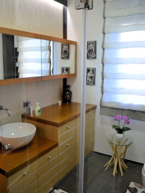 example of a minimalist bathroom design in bari