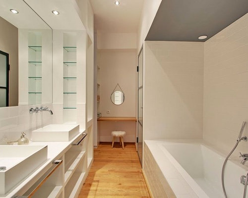 salle de bain photos et id es d co de salles de bain. Black Bedroom Furniture Sets. Home Design Ideas