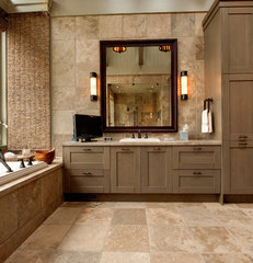 modern bathroom by Moon Bros Inc