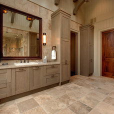 Rustic Bathroom by Moon Bros Inc