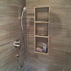 Contemporary Bathroom by Design Me By Mahlah