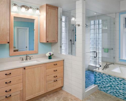 Light Blue Bathroom Houzz