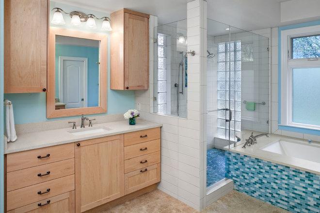 Contemporary Bathroom by CG&S Design-Build