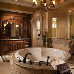 mediterranean bathroom by Don Stevenson Design