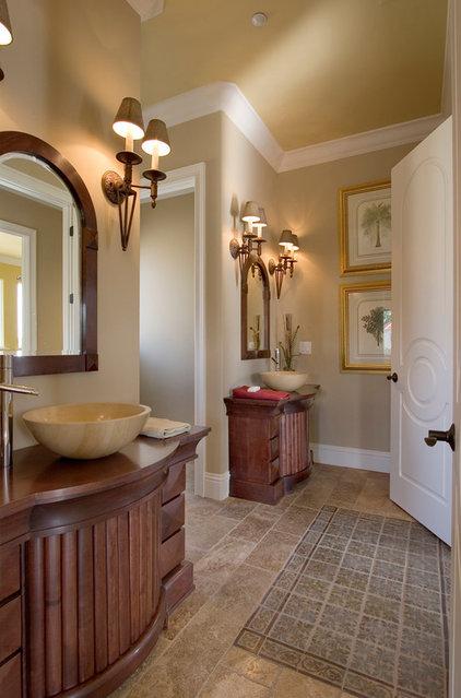 Traditional Bathroom by Silver Sea Homes