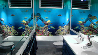 Aquarium Bathroom