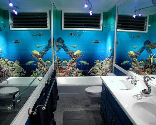 Настенная плитка для ванной комнаты, каталог: цены, фото