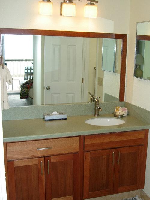 Tropical Bathroom Design Ideas Renovations Photos With Terra Cotta Tile