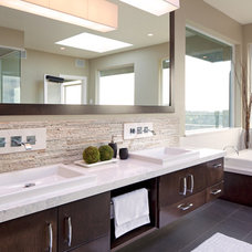contemporary bathroom by Jenny Martin Design